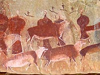 World heritage site - San rock art